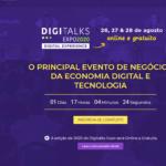 Digitalks Expo 2020 reúne grandes nomes de negócios, marketing e comunicação