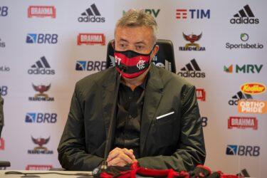 Domènec Torrent aparece no BID e está pronto para estrear pelo Flamengo