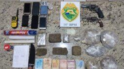 Drogas e armas são apreendidas em Apucarana
