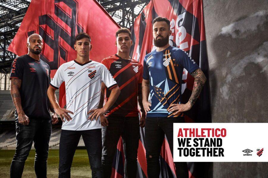 Novas camisas do Athletico vazam na internet