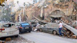 Imagens impressionantes mostram cenário de guerra após explosão em Beirute
