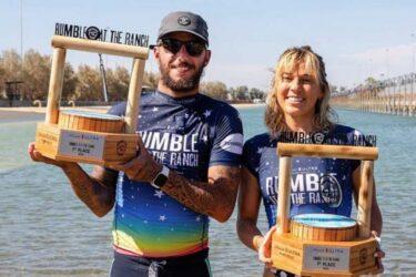 Filipe Toledo e Coco Ho vencem no Surf Ranch