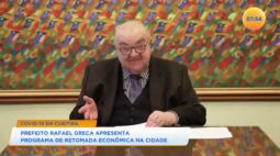 Prefeito Rafael Greca apresenta programa de retomada econômica na cidade