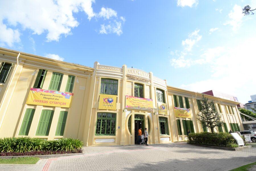 Hospital Pequeno Príncipe tem recorde de internamentos por Covid