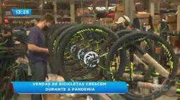 Vendas de bicicletas crescem durante a pandemia: Fábricas de bikes estão contratando funcionários