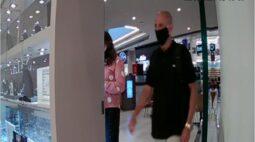 Bandido invade joalheria do Jockey Plaza, mas é preso logo depois
