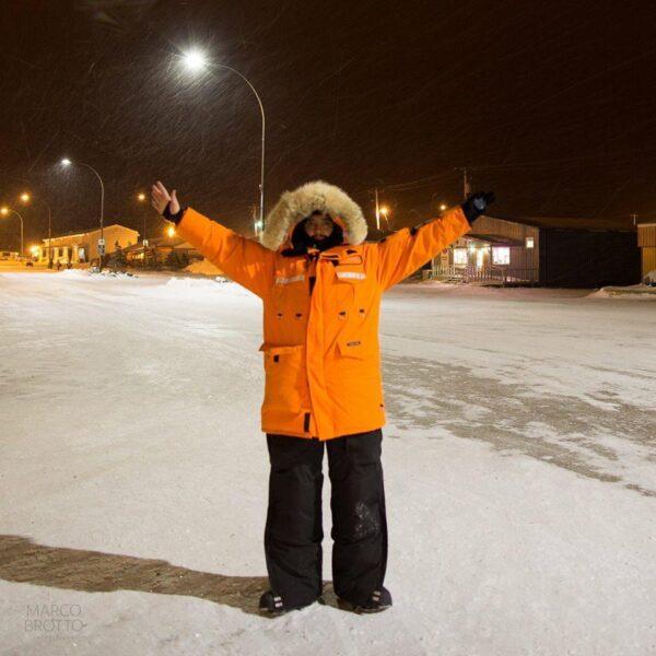 Frio extremo e neve: paranaense enfrenta -46˚C e conta como é