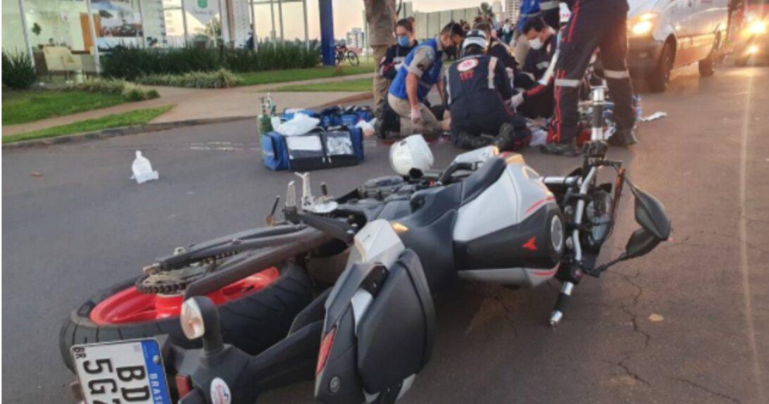Motociclista morre em acidente na Avenida Gastão Vidigal em Maringá