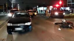 Briga entre motociclista e motorista termina com atropelamento e morte no Bairro Alto