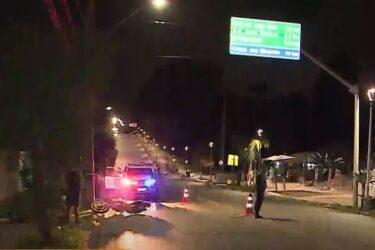 Motociclista morre após acidente em Santa Felicidade, em Curitiba