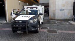 Mulher é encontrada morta no Centro de Curitiba
