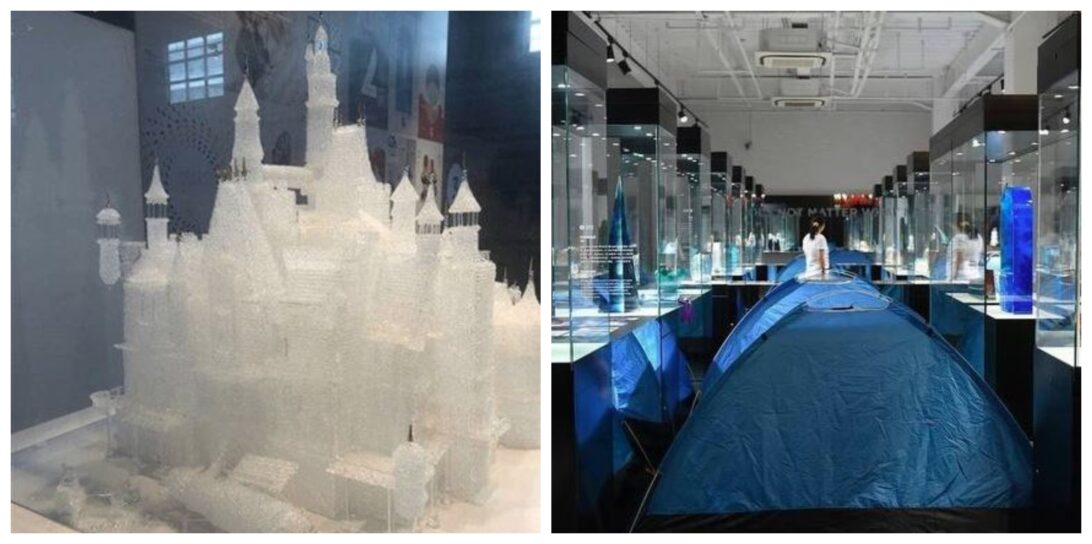 Em Museu de Vidro, crianças quebram obra de R$ 330 mil