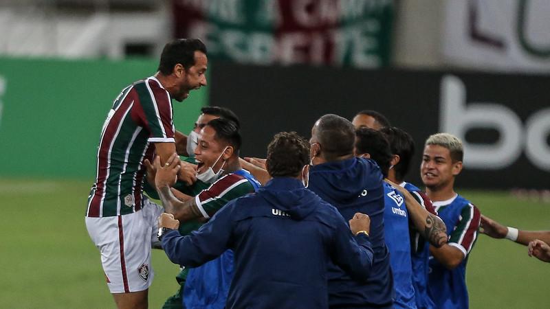 Odair Hellmann elogia boa fase de Nenê no Fluminense