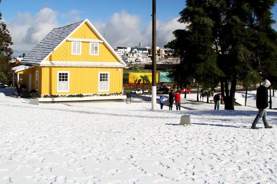 Neve no Paraná: massa de ar polar pode causar evento histórico nesta semana