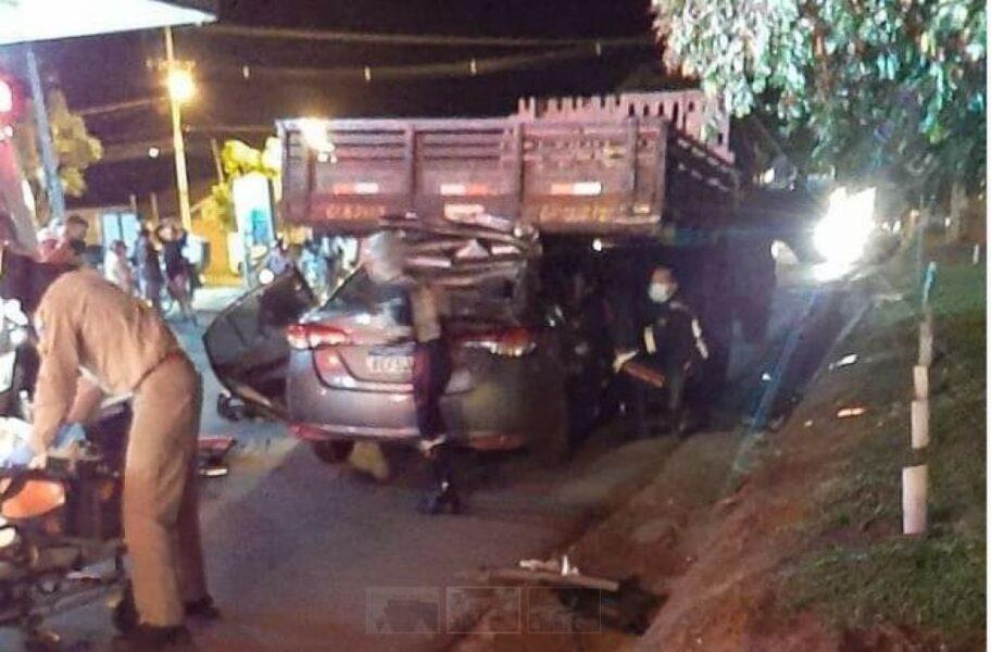 Padre fica gravemente ferido após acidente de carro em Cianorte