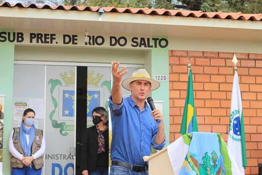 Pré-candidato à prefeitura de Cascavel, Leonaldo Paranhos (PSC), concede entrevista para a Jovem Pan