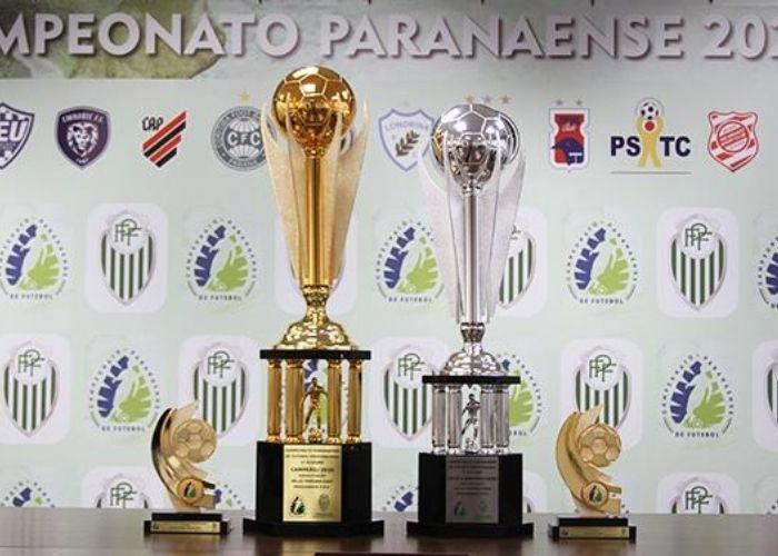 FPF divulga imagens da premiação do Paranaense 2020