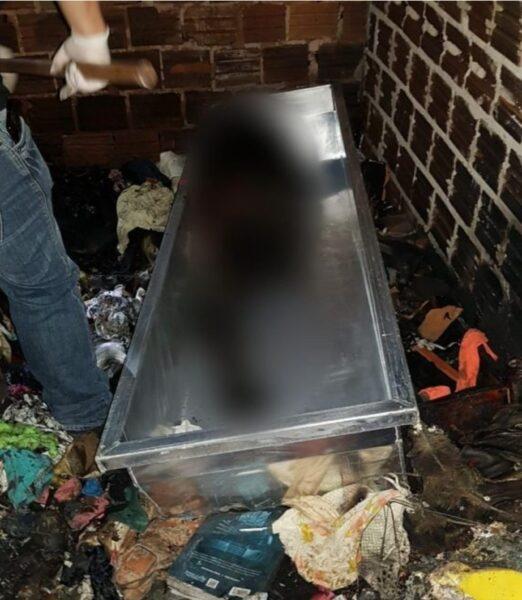 Enteado é o principal suspeito de incendiar casa e esconder corpo do padrasto em Terra Rica
