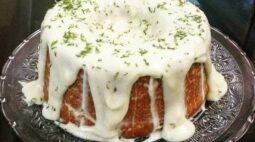 Receita de bolo de limão: de liquidificador e com gelatina