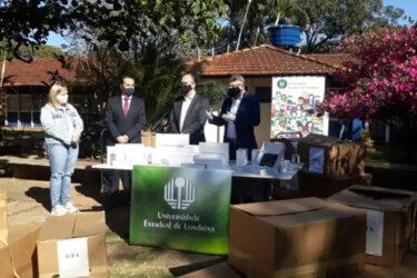 Receita Federal repassa R$961 mil em equipamentos para alunos da UEL