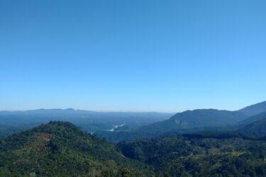 Serra do Mar protegida combate crise hídrica no Paraná