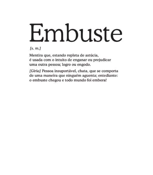 significado embuste