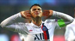 Thiago Silva deixa PSG para jogar no Chelsea na temporada 20/21
