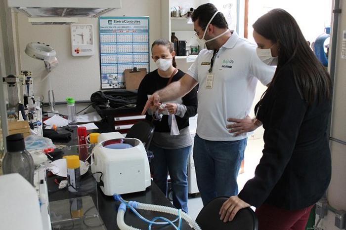 UTFPR de Londrina desenvolve Protótipo de Ventilador Pulmonar
