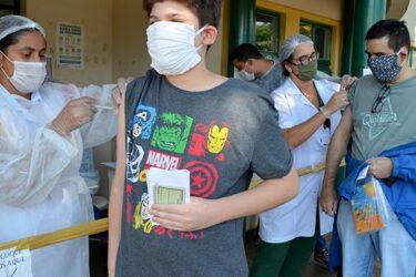 Vacinação contra a gripe imuniza 5.600 pessoas em Londrina