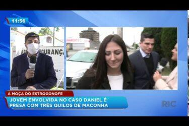 Jovem envolvida no caso Daniel é presa com três quilos de maconha