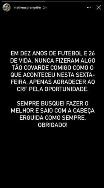 Funcionário é demitido do Flamengo por foto em avião e vê covardia