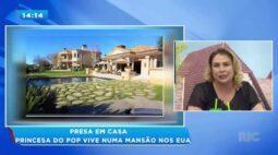 Britney Spears vive em mansão luxuosa nos EUA