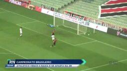 Campeonato Brasileiro: Athletico vence o Bahia e se afasta da zona de rebaixamento