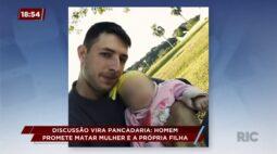 Homem ateia fogo em casa e ameaça matar mulher e filha de dois anos