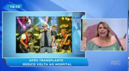 Paulinho do Roupa Nova volta a ser hospitalizado após transplante de medula óssea