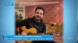 Cantor Luciano Camargo anuncia que vai lançar álbum gospel