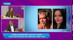Fábio Assunção revela que vai se casar nos próximos dias