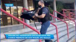 Fraude no transporte escolar: prefeito de São Miguel do Iguaçu é preso
