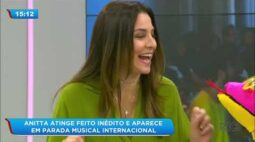 Anitta aparece pela primeira vez em parada musical internacional