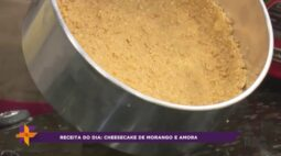 Receita do dia: Cheesecake de morango e amora