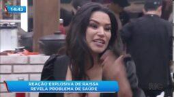 A Fazenda 12: reação explosiva de Raissa Barbosa revela problema de saúde