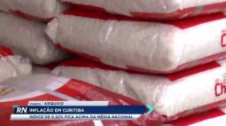 Inflação em Curitiba: índice de 0,52% fica acima da média nacional