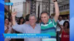 Morto a facadas: Presidente do nacional de Rolândia é sepultado