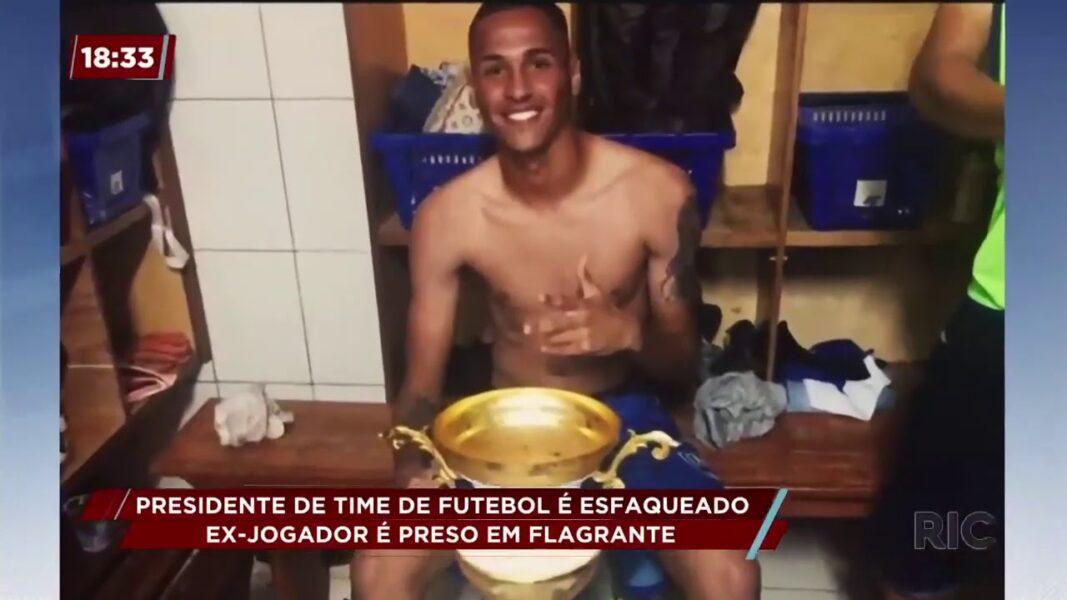 Presidente do nacional de Rolândia é morto a facadas por ex-jogador do clube