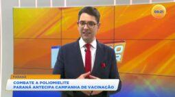 Combate a Poliomielite Paraná antecipa campanha de vacinação