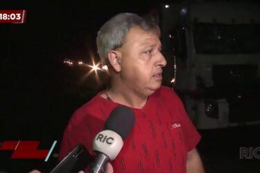 Motorista de caminhão morre em acidente em São José dos Pinhais