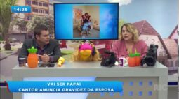 Lucas Lucco anuncia que será pai pela primeira vez