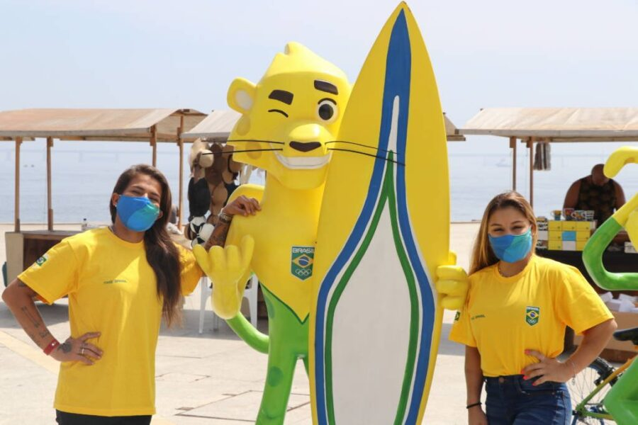 COB inaugura exposição para marcar os 300 dias para a Olimpíada de Tóquio