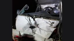 Acidente em Santo Antônio da Platina deixa uma vítima fatal e uma pessoa ferida