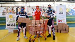 APAE de Londrina recebe doação de R$ 100 mil em produtos para combater a Covid-19